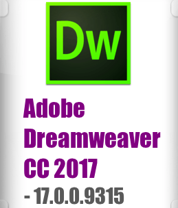 Adobe Dreamweaver CC 2017 17.0.0.9315 FULL + Crack Mac OS X [774 MB]