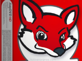 Redfox AnyDVD 8.3.4.0 Crack With Keygen Free Download [Latest]