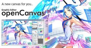 OpenCanvas 7.0.21 Crack With Serial Key Free Download