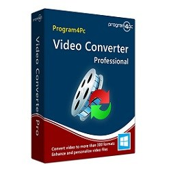 Program4pc Video Converter Pro 10.2.0 Crack & Patch Free Download