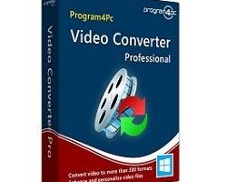 Program4pc Video Converter Pro 10.2.0 Crack & Patch Free Download