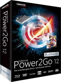 CyberLink Power2Go Platinum 12.0.1508.0 with Crack Download