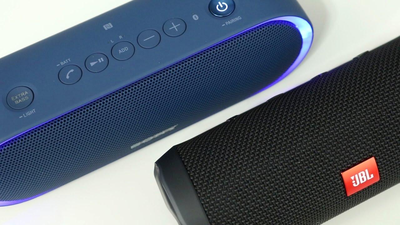 Blue Sony XB20 Portable Wireless Speaker with Bluetooth