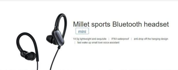 Xiaomi Mi Sport Bluetooth Headset Mini White A2z Purchase