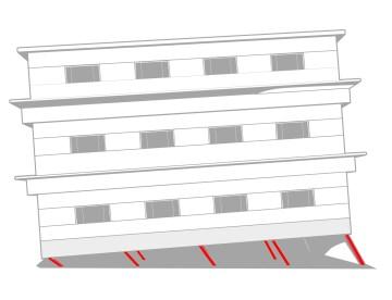 A2Z Seismic Retrofit Danger of soft-story buildings