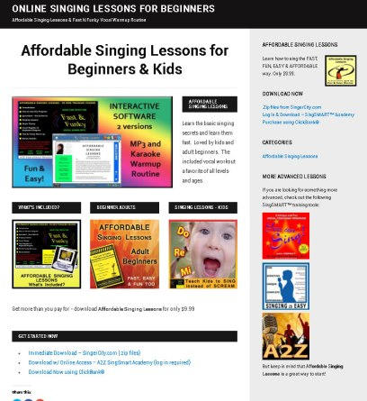 Affordable Singing Lessons