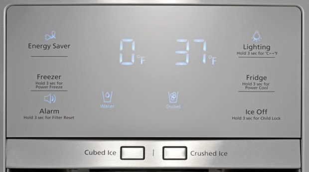 Samsung RF30HBEDBSR Controls