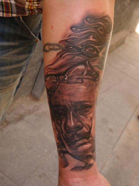 ...dali , cover  oct.10 in my tattoos by Robert Hernandez