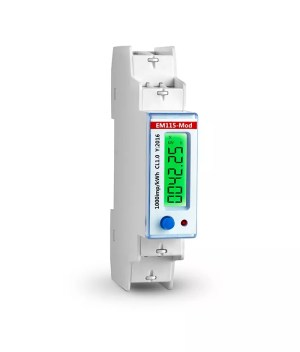 EM115Mod modbus single phase din rail energy meter 18mm wide ,230V 5(45)A  Buy modbus meter