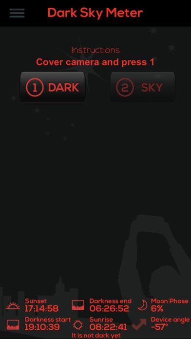 Dark Sky Meter Screenshot