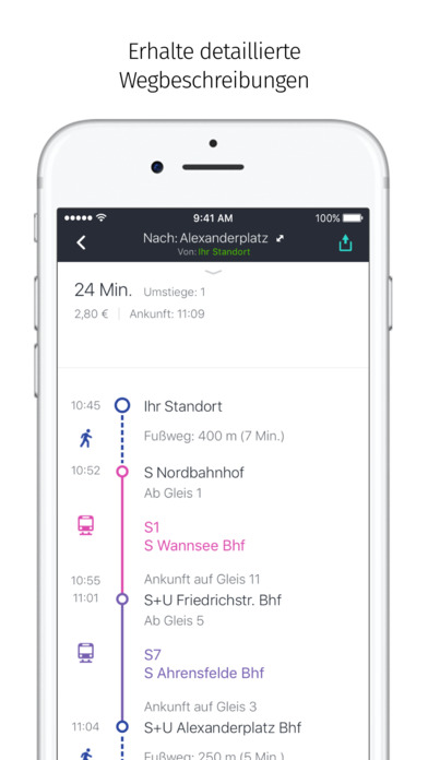 HERE WeGo - Routenplaner Screenshot