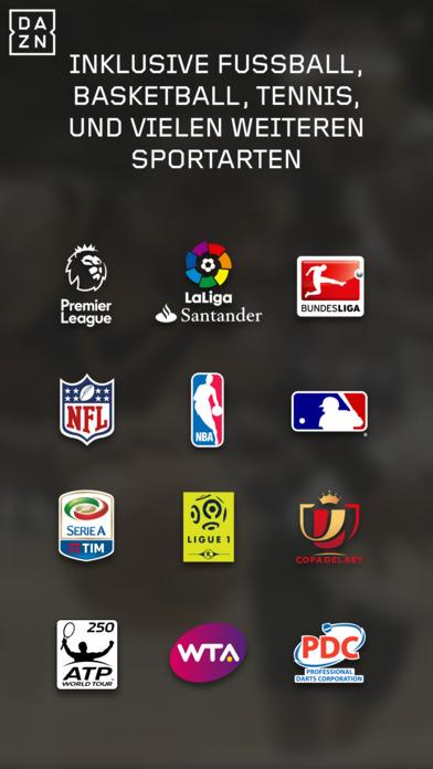 DAZN - erlebe deinen Sport live und auf Abruf Screenshot