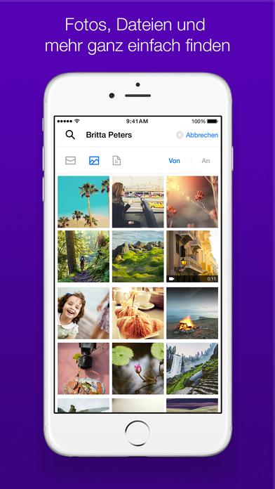 Yahoo Mail – Behalten Sie den Überblick Screenshot