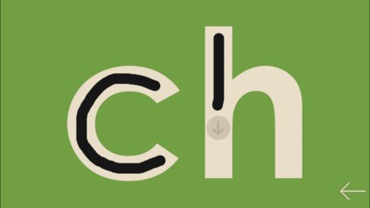 Einführung in die Buchstaben, von Montessorium Screenshot
