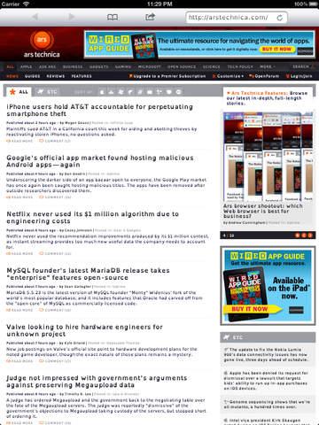 openWeb - Assistive Experimental Web Browser Screenshot