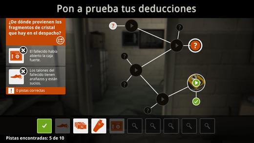 The Trace: Muerte misteriosa - Analiza indicios y resuelve el crimen Screenshot