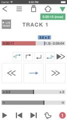 英語リスニングを楽しむアプリ、リスタノ (2倍速/スロー再生/ABリピートができる語学学習用プレーヤー mp3対応)