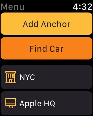 Anchor Pointer: Parked Car Finder Screenshot