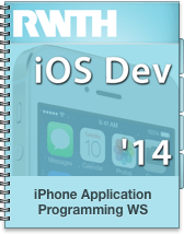 iPhone Application Programming WS 14/15