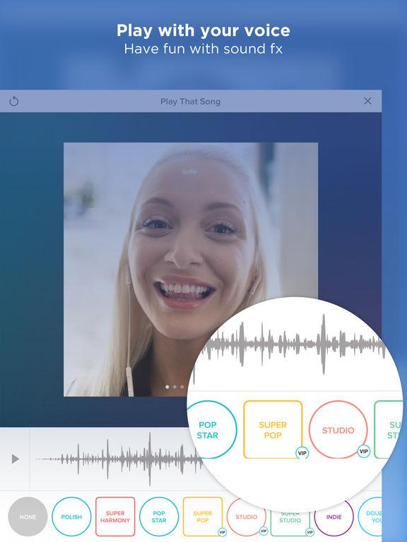 Smule Sing! Screenshot