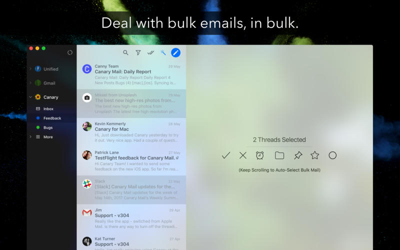 Canary Mail 2.19 Mac 破解版 - 优秀的邮件客户端
