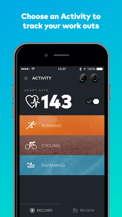 Screenshot do app Bragi