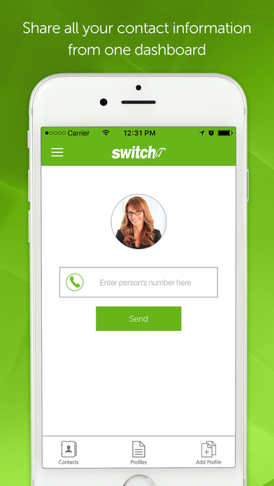 Switchit – Contact Sharing & Network Manager Screenshot