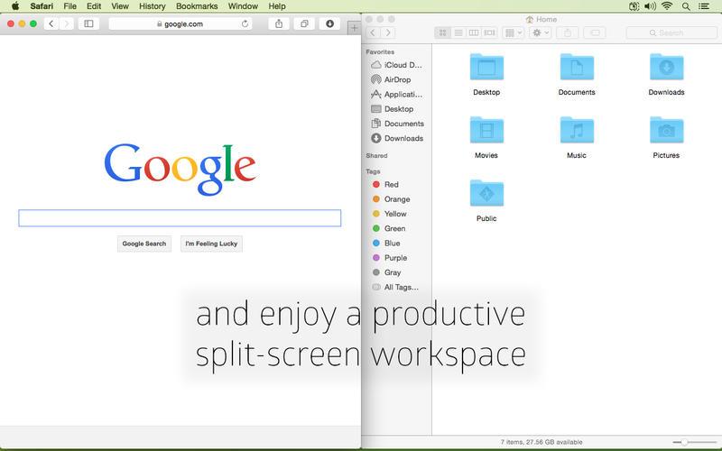 Cinch for Mac 1.2.4 破解版 - 实用的窗口控制工具