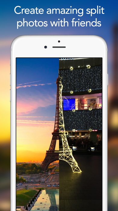 WeSnap - Split photos with friends Screenshot