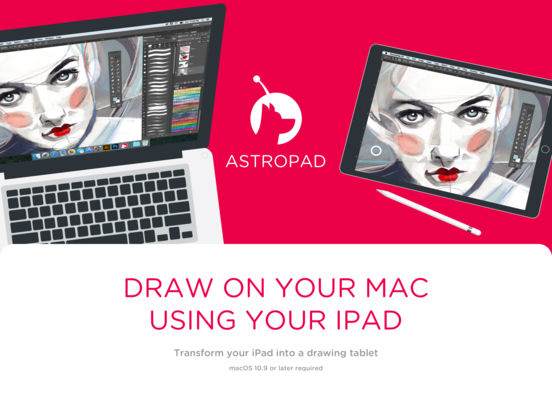 Screenshot do app Astropad Drawing Tablet