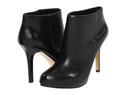 Nine West 7Fessup Black Leather Bootie