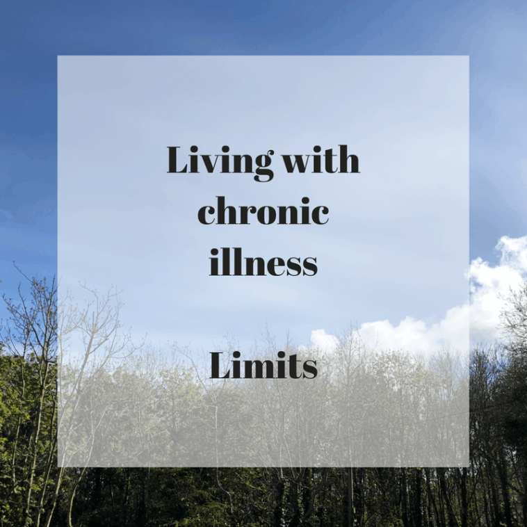 Living with chronic illness - Limits