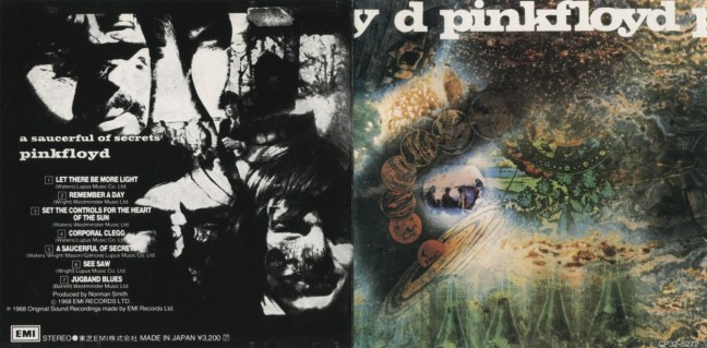 A SAUCERFUL OF SECRETS, PINK FLOYD, 1968
