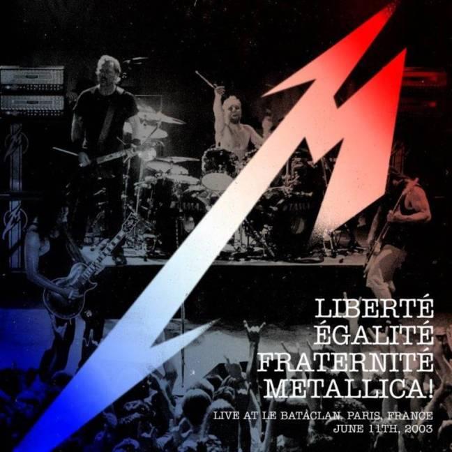 Metallica Bataclan