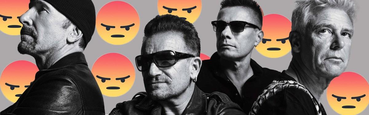 ¿U2, una banda odiada?