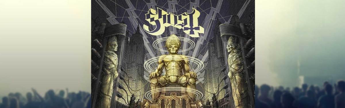 Nuevo álbum en vivo de Ghost