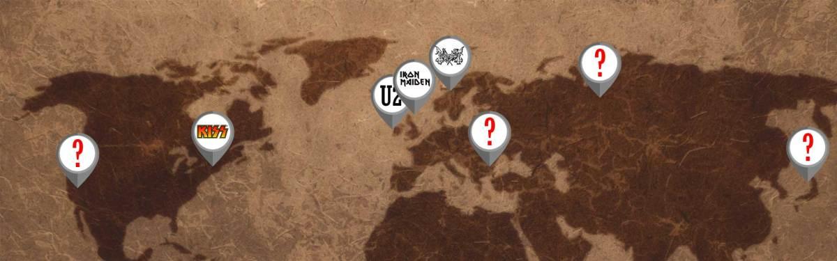 Trivia ¿Conoces el lugar de origen de estas 50 bandas?