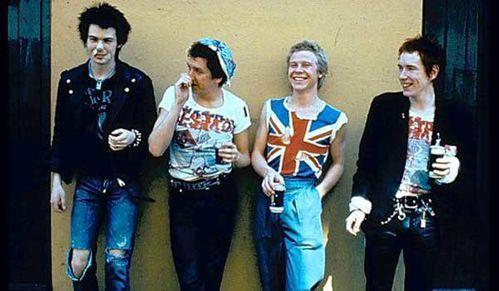 Les Sex Pistols habillés par VW