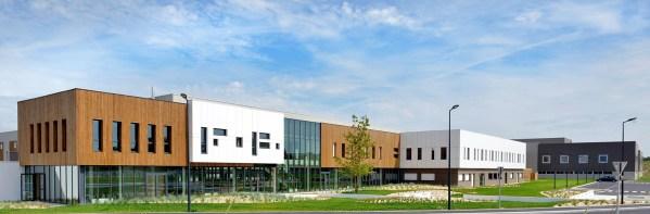 Vue générale, Entreprise Bouvet, La Membrolle-sur-Longuenée, Lionel Vié architecte