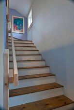 Stair to studio space