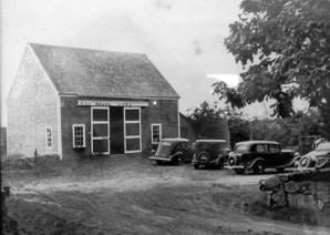 Historic Photo of Barn
