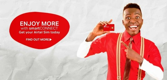 How to change Tariff plan to Airtel SmartCONNECT
