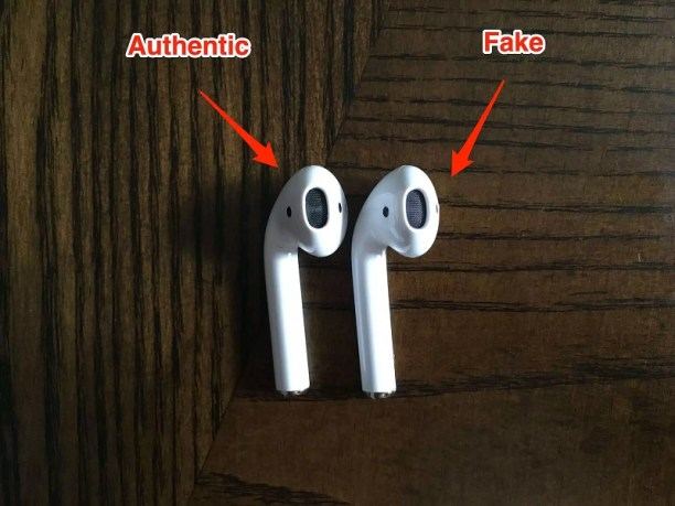 How to easily spot fake Apple AirPods - Real Vs Fake Spot fake by checking AirPods speaker grill