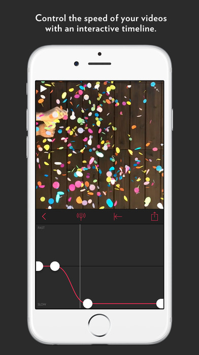 Slow Fast Slow - Control the Speed of Your Videos Screenshot