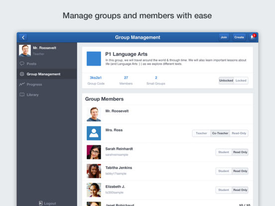 Edmodo Screenshot