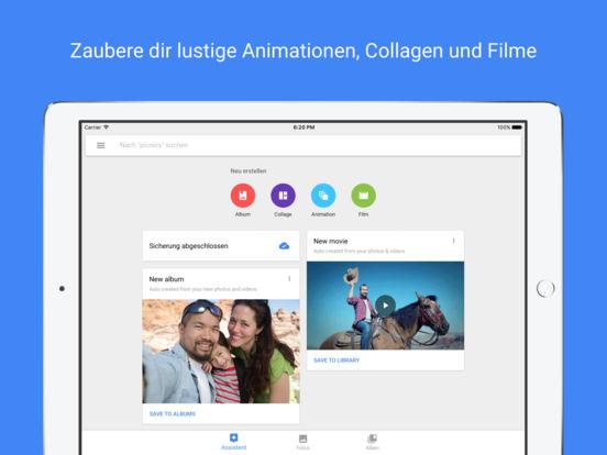 Google Fotos – Speicher für Fotos und Videos Screenshot