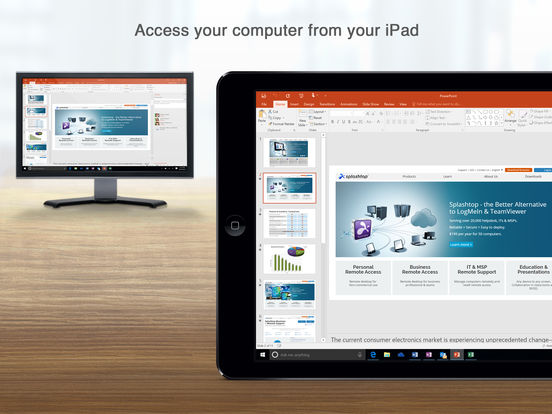 Splashtop Personal - Remote Desktop Screenshot