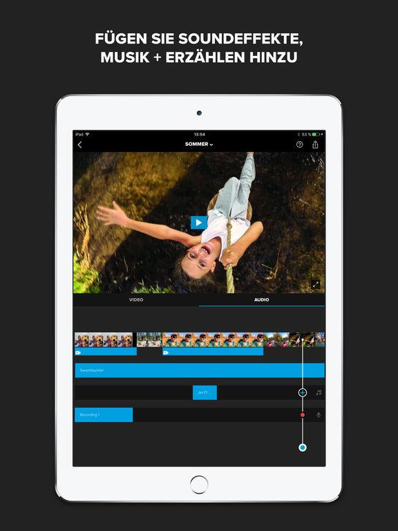 Splice - Video-Editor von GoPro Screenshot
