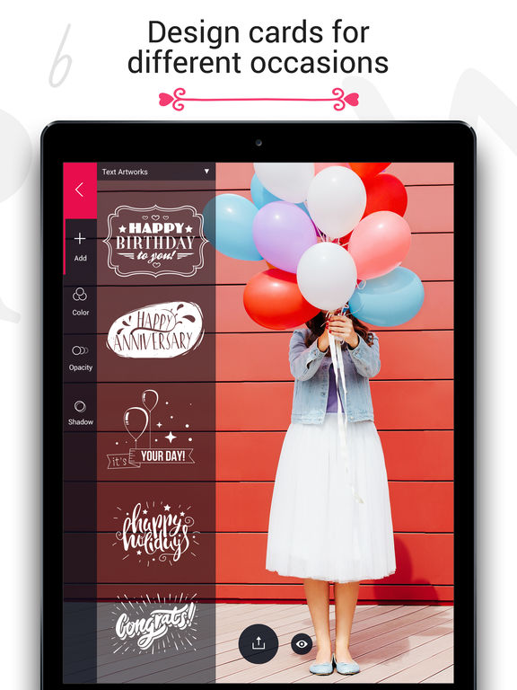 Fontmania - Add Artworks & Text to Your Photos! Screenshot