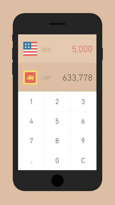 Screenshot do app Currency - Exchange Rate & Money Converter